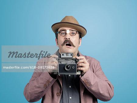 Nerd photographer
