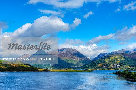 Loch Leven with Ben Nevis range