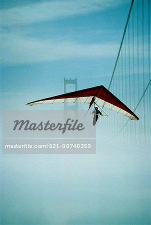 Hang Glider In San Francisco