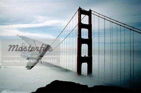 Hang Glider In San Francisco, California