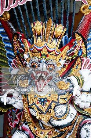 Masks, Ubud, Bali, Indonesia