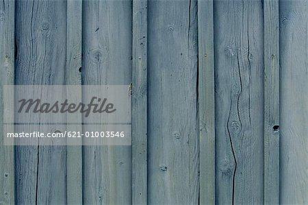 Blue Colored Wood Siding Stock Photo