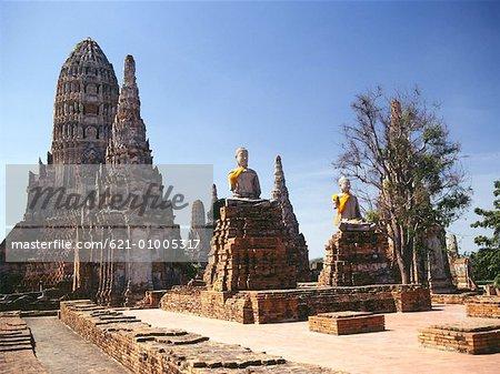 Ayutthaya Buddhist temple
