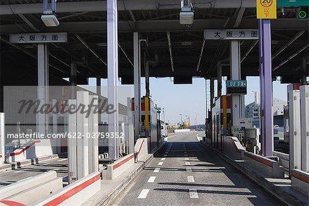 Hanshin Expressway in Osaka Prefecture, Japan