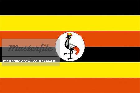 Uganda National Flag