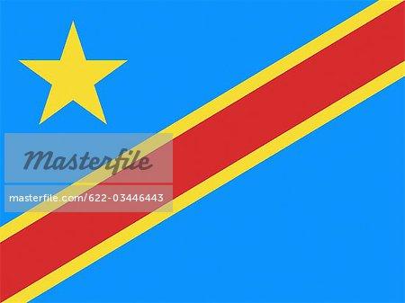Democratic Republic of the Congo National Flag