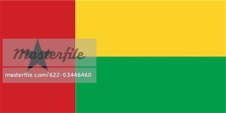 Guinea-Bissau National Flag