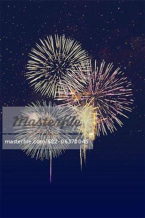 Fireworks at Yodogawa, Osaka
