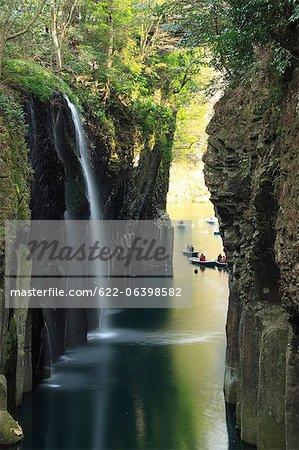 Takachiho waterfall in Miyazaki Prefecture