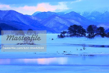 Lake Akimoto, Fukushima Prefecture