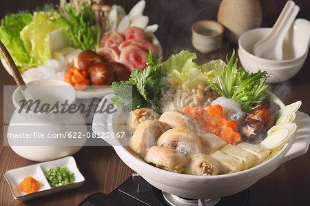 Japanese style casserole