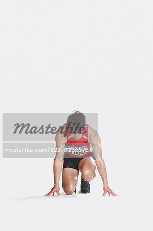 Japanese male athlete