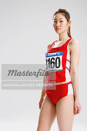 Japanese female athlete