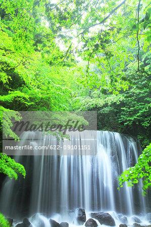 Tatsuzanfudou waterfall, Fukushima Prefecture, Japan