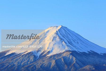 Beautiful view of Mount Fuji, Yamanashi Prefecture, Japan