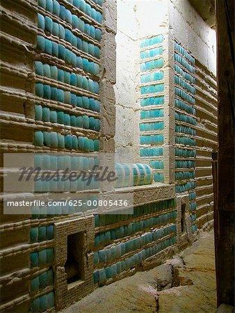Close-up of a stone wall, Saqqara Egypt