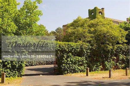Entrance of a garden, Aquitaine, France