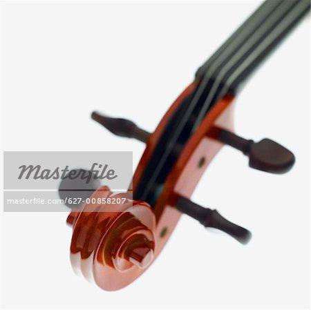 Close-up a violin