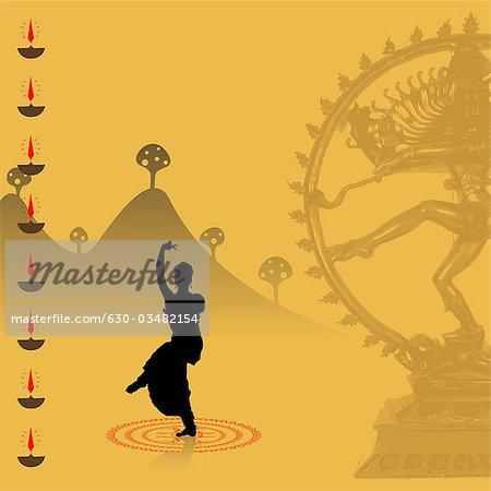 Woman Performing Bharatnatyam The Indian Classical Dance Stock Photo Masterfile Premium Royalty Free Code 630 03482154