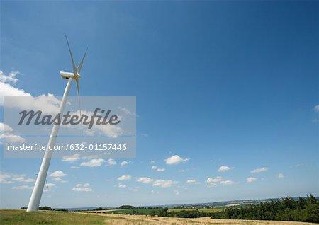 Wind turbine, Normandy, France