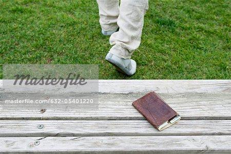 Wallet left on park bench