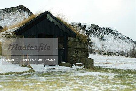 Turf house, Skogar, Iceland