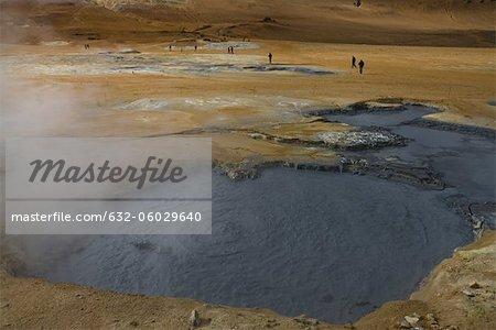 Geothermal mudpot, Namafjall, Iceland
