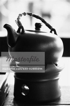 Teapot set on censer