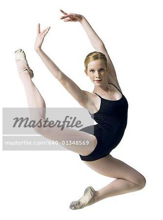 087b6c2f1 Teenage ballerina in leotard - Stock Photo - Masterfile - Premium ...