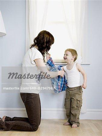 Mom Dressing