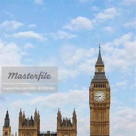 UK, London, Big Ben against sky