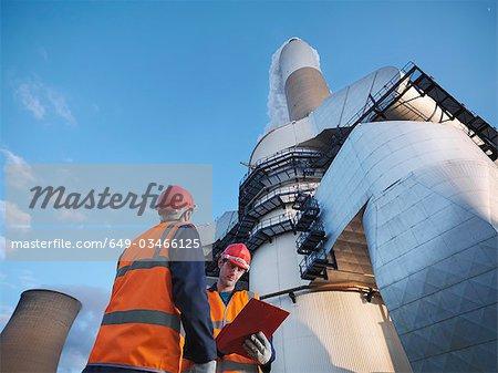 Workers & Desulphurisation Plant