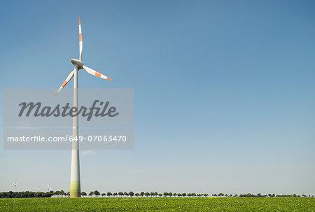 Wind turbine, Selfkant, Germany