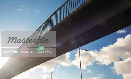 Part of pedestrian footbridge