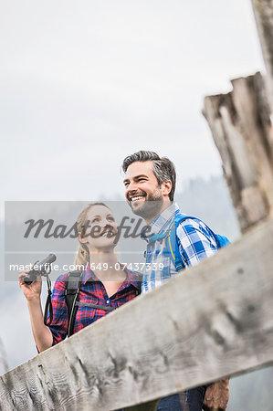 Couple enjoying the sights