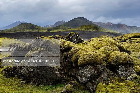 Veidivotn Lake, Highlands of Iceland