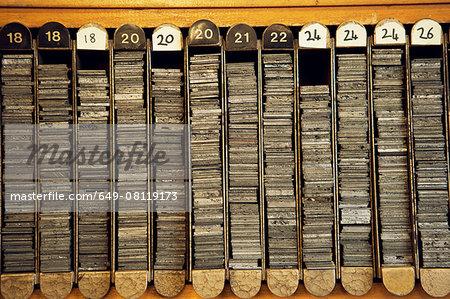 Number organisation system