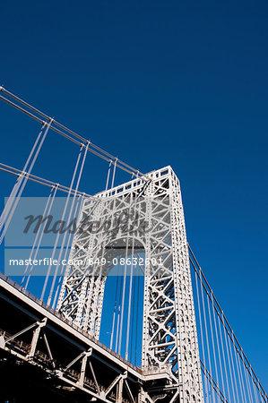 George Washington Bridge, Manhattan, New York City, USA
