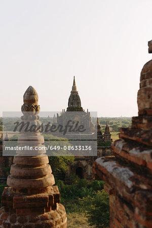 North and south Guri temples at sunrise, Bagan, Burma