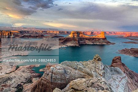 Glen Canyon National Recreational Area, Big water, Utah, USA
