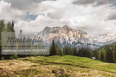 Mountain view, Alta Badia South Tyrol, Italy