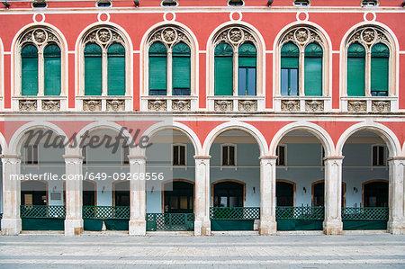 Historical building in town, Split, Dalmatian Coast, Splitsko-Dalmatinska, Croatia