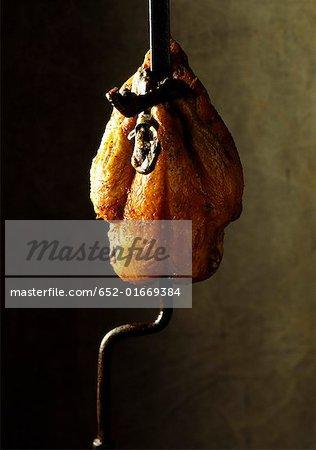 chicken on the spit