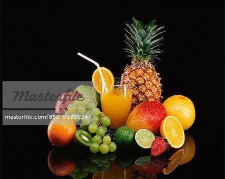 Multivitamin fruit juice