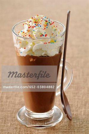 Chocolate Liégeois