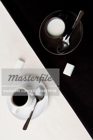Yin and Yang coffee