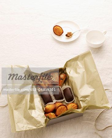 Box of homemade delicacies