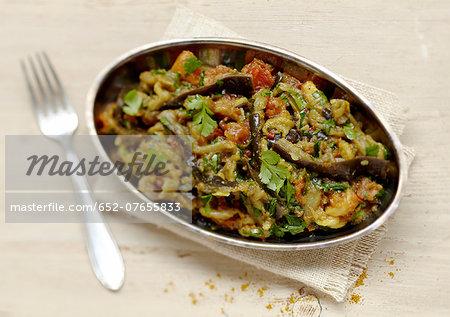 Eggplant Zaalouk