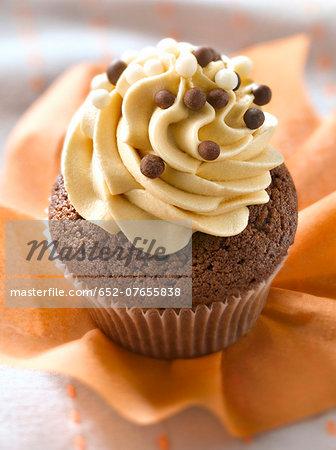 Choco-coffee cupcake