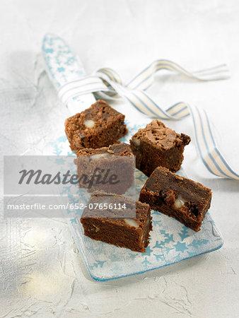 Chocolate and hazelnut brownies